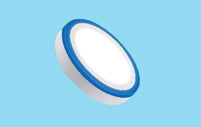 Led ốp trần 2 màu bóng tròn 18W+6W
