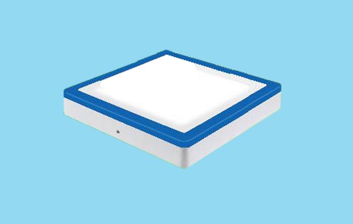 Led ốp trần 2 màu bóng vuông 3W+3W