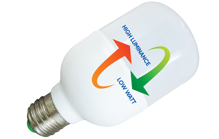 Đèn Led Trụ Nhựa Thân Trơn 10W