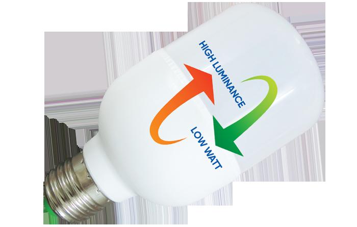 Đèn Led Trụ Nhựa Thân Trơn 20W